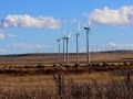 Wind Turbines - Crownest Hwy 3 West of Fort MacLeod, Alberta 2014 10 18 IMG_6412