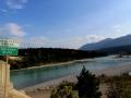 Canal Flats Bridge - Kootenay River, BC 2015 08 09 IMG_1946
