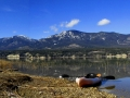 Kayaking Columbia Lake East Side Early April - 2016 04 03 IMGS 7281-82