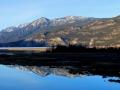 Rockies Reflections - Columbia Lake SW    2014 03 13   IMG_8782