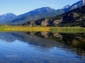 Columbia Lake NE Wetlands - Rocky Mountain Morning Reflections 2016 09 13 IMG_9239
