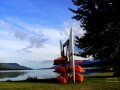 Kayak Rack at Columere Beach 2013 06 19 IMG_3140