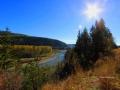 Elk River October Sun , East Kootenay BC, October 2016 IMG_8323