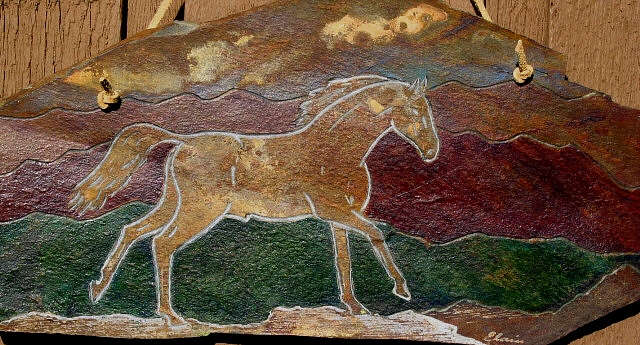 DESERT DANCER - Horse - Close Up