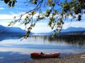 My Kayak Awaits - Columbia Lake BC 2014 09 16 IMG_2385