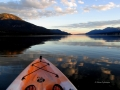 Columbia Lake - Sunset Paddle 2016 09 15 IMG_9288