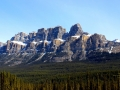 Castle Mountain Alberta - Banff National Park - Beauty in The Morning 2013 05 04 IMG 2046