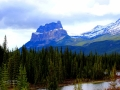Castle Mtn Rainy Day - Banff National Park 2013 05 04 IMG_2377