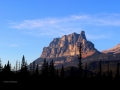 Castle Mountain Alberta Sunset 20131025 IMG_7262