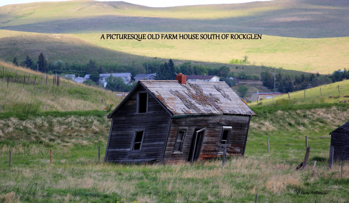 Old Farmhouse South of Rockglen 2015 06 06  IMG_0365