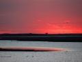 Red Skies Grey Waters Sunset North of Assiniboia Saskatchewan 2014 05 21 IMG_9821