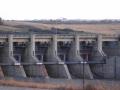 Gardiner Dam Spillway Gates - Evening 2017 09 10 IMG_0687
