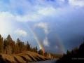 Double Rainbow - Windermere Area, BC - 2017 03 18 IMG_9353
