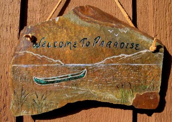 WELCOME TO PARADISE - CANOE #1, IMG 203-0305